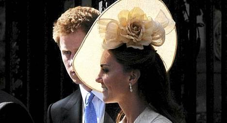Herttuatar Catherine huomataan, missä ikinä hnä liikkuukin.