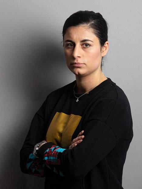 Seida Sohrabin mukaan miesten ja naisten välinen kanssakäyminen on Irakissa vähäistä.