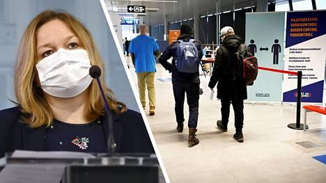 Krista Kiuru (sd) hehkutti Ylen A-studiossa, että keskiviikko oli läpihuutopäivä. Aluehallintovirastot päättivät rajojen pakkotestauksessa.