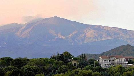 Sisiliassa sijaitseva Etna on Euroopan aktiivisin tulivuori.