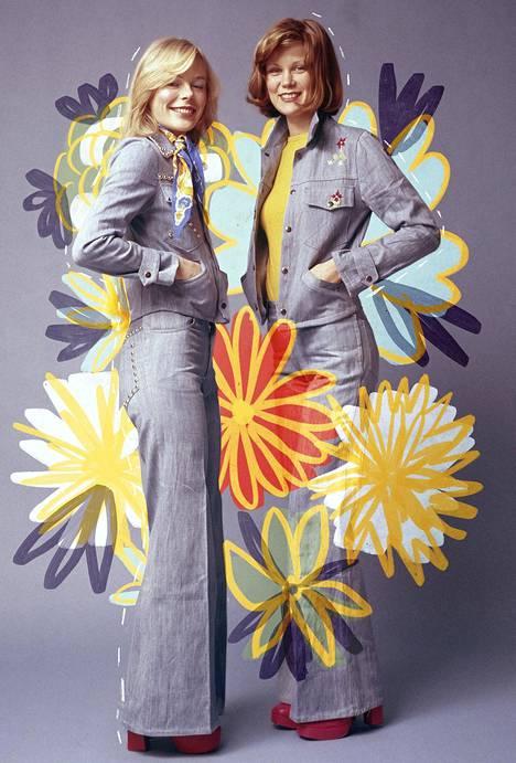 1970-luvulla ihaltiin karismaattista ja upeavartaloista aatteen naista