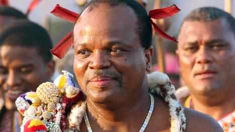 Kuningas Mswati III:n toimet ovat aiheuttaneet paheksuntaa Swazimaan väestön keskuudessa.