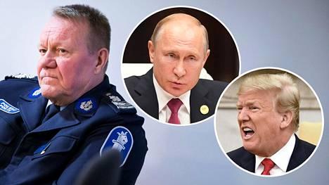 Heikki Porola Helsingin poliisista kertoo, ettei virkavallalle ole tullut tietoa tapaamisesta.
