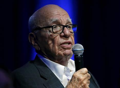 Mediamoguli Rupert Murdoch on ollut läheisissä väleissä presidentin kanssa vuosien ajan.