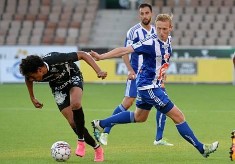 HJK:n Mikael Forssell onnistui FC Lahtea vastaan.