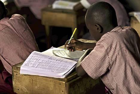 Kings Academysta löytyy Kenian toiseksi paras matematiikan luokka.