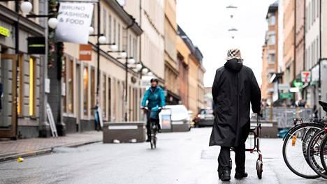 Katukuvaa Tukholmasta.