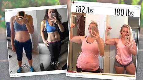 Vaaka ei erota lihasta tai rasvaa.