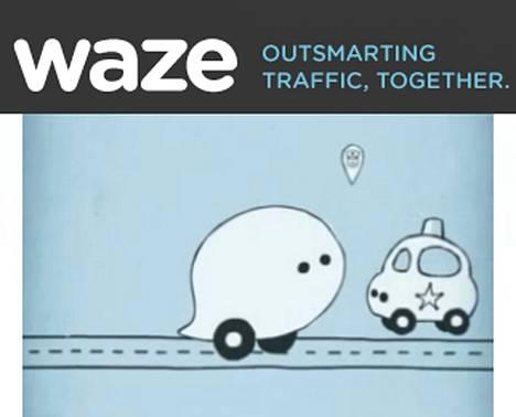 Waze on Googlen omistama tieliikenteen yhteisöpalvelu, joka haluaa tietoa suoraan tien päältä.