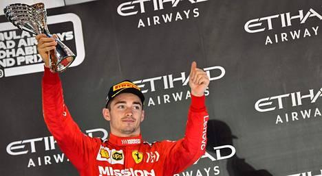 Ferrari aikoo pitää Charles Leclercin pitkään riveissään.