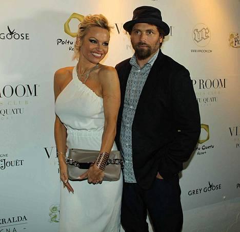Pamela Anderson ja Rick Salomon olivat naimisissa kaksi kertaa.