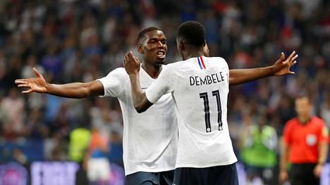 Ranska voitti Nizzassa pelatussa ottelussa Italian 3–1.