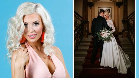 Maisa Torppa ja hänen uusi rakkaansa Mikko avioituivat.