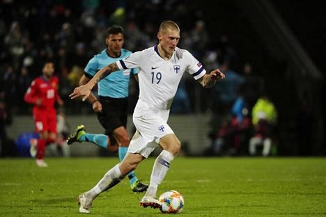 """Joni Kauko on saanut Tanskassa lempinimen """"Suomen Messi""""."""
