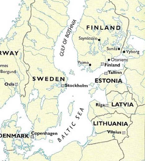 Usa N Koulukirjoissa Hullu Suomen Kartta Ulkomaat Ilta Sanomat