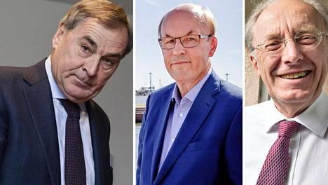 Mikael Lilius, Matti Alahuhta ja Stig Gustavson ovat kovatuloisimpia eläkeläisiä.