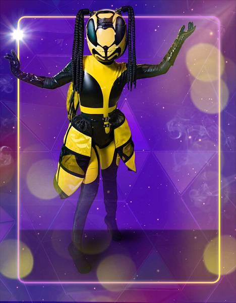 Erika Vikman pukeutui ampiaiseksi ohjelman ensimmäisellä kaudella.