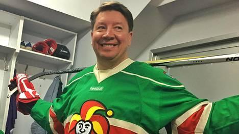 Jari Kurri työskentelee nykyään KHL-seura Jokerien general managerina.