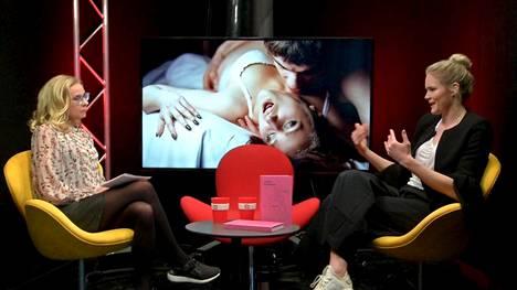 ISTV:n seksistudiossa puhuttiin muun muassa siitä, mitkä asiat voivat vaikeuttaa orgasmin saamista.