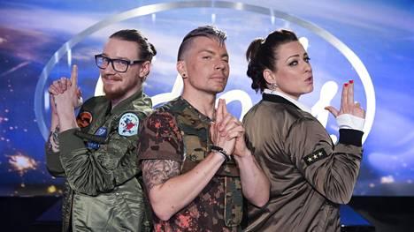 Uuden Idols-kauden tuomaristoon kuuluu Jurek, Antti Tuisku ja Erin.