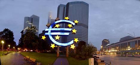 Euroopan keskuspankin pääkonttori sijaitsee Frankfurtissa. EKP on maailman suurista keskuspankeista ainoa valtioliiton keskuspankki.