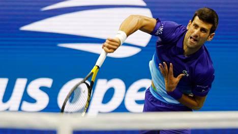 Novak Djokovic voitti US Openissa Tallon Griekspoorin.