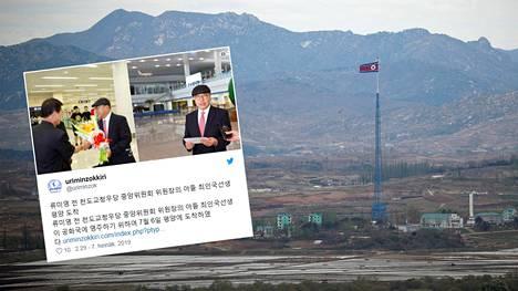 Pohjoiskorealaisen median mukaan eteläkorealainen loikkari sai lämpimän vastaanoton.
