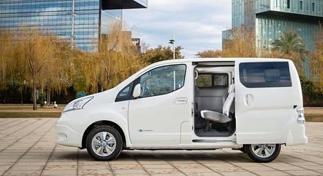 Nissan Futures 3.0 -tapahtumassa Nissan julkisti myös uuden täysin sähkökäyttöisen e-NV200-pakettiauton.