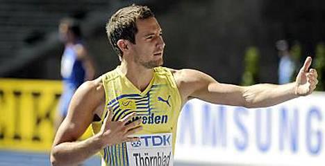 Linus Thörnblad ei hyppää Ruotsi-maaottelussa.