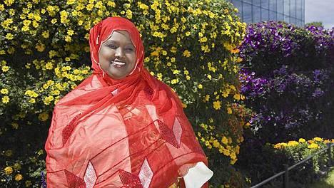 Somalian presidentiksi pyrkivä Amal Abdi Ibrahim tekisi presidenttinä parannuksia erityisesti lasten ja naisten oloihin.