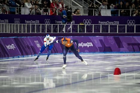 Jos jääurheilukeskus saadaan rakennettua, Helsinki voisi hakea vaikkapa pikaluistelun arvokisoja.