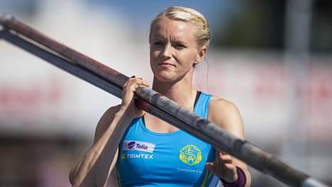 Minna Nikkanen on Suomen entinen arvokisaedustaja. Arkistokuva vuodelta 2017.
