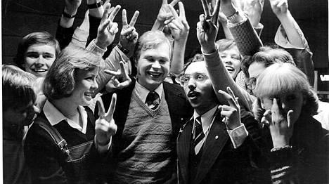 Diskojytä pauhasi, kun Zyskowicz valittiin eduskuntaan 1979.
