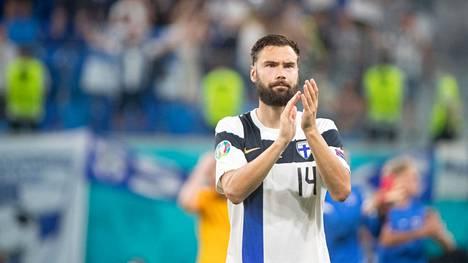 Nyt ei irtoa hymyä. Tappio Belgialle veti Tim Sparvin mielen matalaksi.