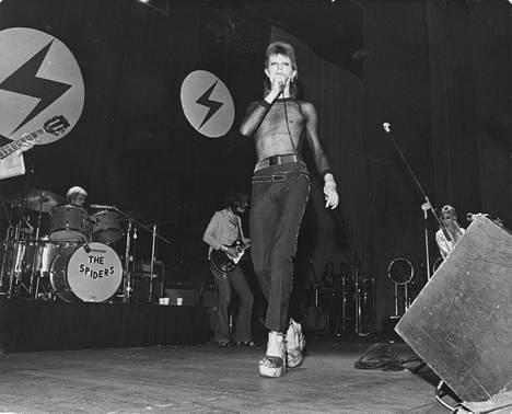 Ziggy Stardust oli yksi Bowien ikimuistoisista hahmoista.
