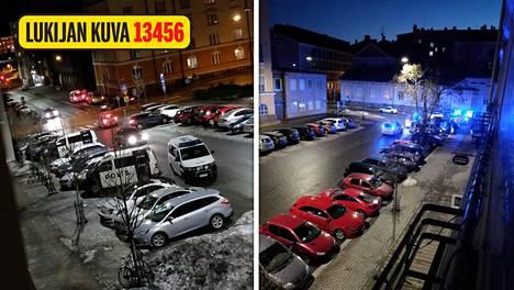 Turun Tuureporinkadulla on ollut käynnissä poliisioperaatio.