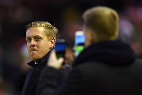Swansea Cityn englantilainen manageri Garry Monk sai potkut.