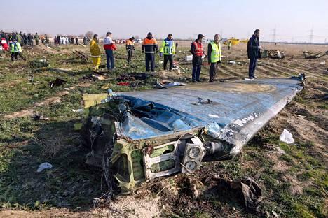 Iran ampui viime viikolla alas ukrainalaisen matkustajakoneen lähellä Teherania.