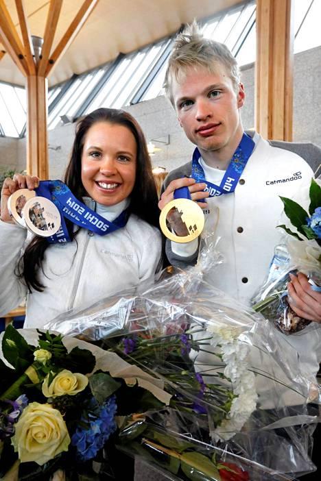 Sisarukset Iivo ja Kerttu Niskanen saivat molemmat kutsun.