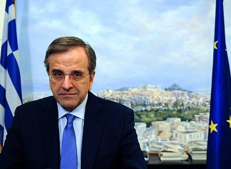 Antonis Samaras toimi Kreikan pääministerinä ja on Uusi Demokratia -puolueen johtaja.
