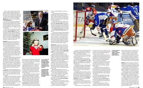 Tuore Urheilulehti kertoo Jan Calounin tarinan.