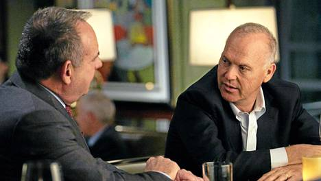 Michael Keaton (oik.) on Spotlightin tähtiä.