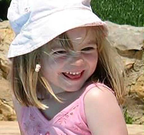 Madeleine katosi perheen lomamatkalla Portugalin etelärannikolla Praia da Luzissa.