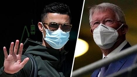 Ronaldo (vas.) kehittyi Sir Alex Fergusonin opeissa maailmanluokan pelaajaksi.