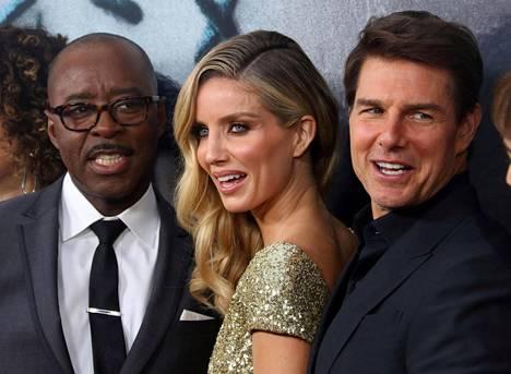 Courtney B. Vance, Annabelle Wallis ja Tom Cruise.