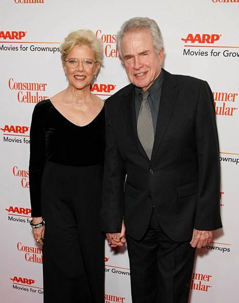 Annette Bening ja Warren Beatty ovat olleet naimisissa vuodesta 1992.