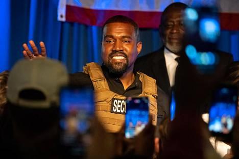 Kanye Westin erikoinen käyttäytyminen on herättänyt huolta räppärin henkisestä tilasta.
