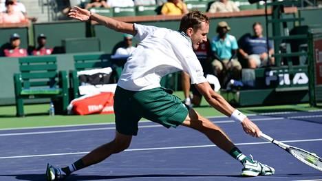 Daniil Medvedevin taival ATP-turnauksessa Indian Wellsissä tyssäsi yllättäen.
