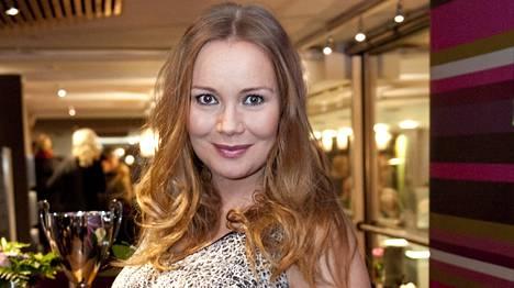 Juontaja Marja Hintikka on nyt kahden lapsen äiti.