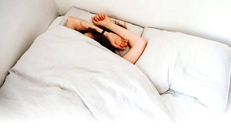 Rauhallinen jooga ja venyttely voivat myös rentouttaa ja auttaa unen saantia.